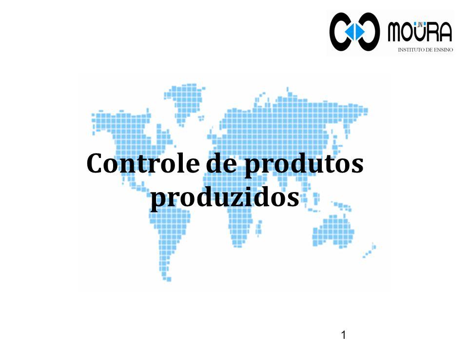 Controle de produtos produzidos