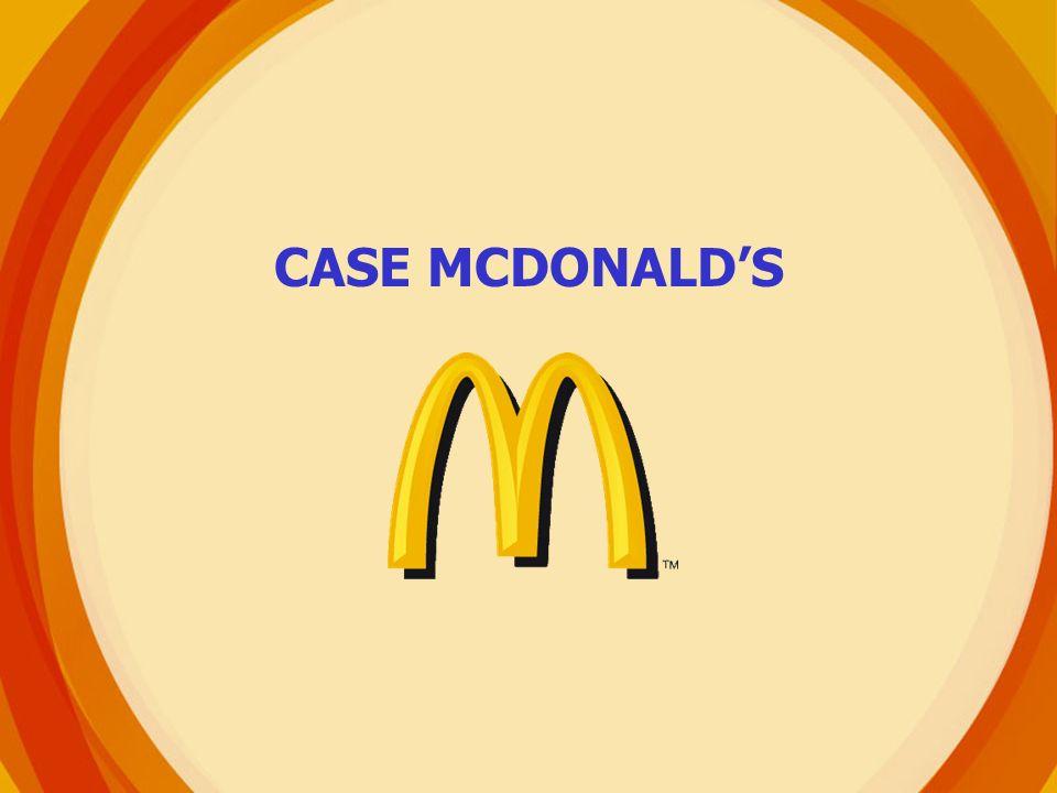 CASE MCDONALD'S
