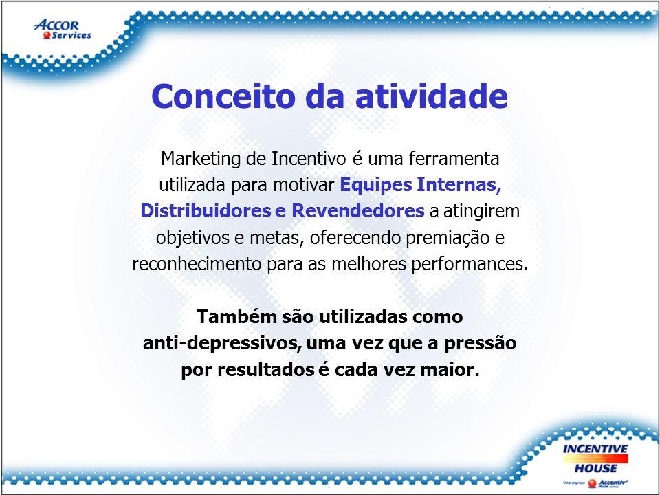 Conceito da atividade Marketing de Incentivo é uma ferramenta