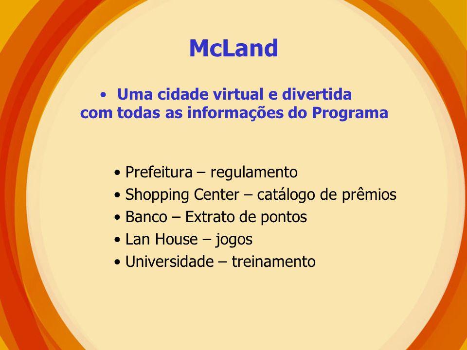 Uma cidade virtual e divertida com todas as informações do Programa