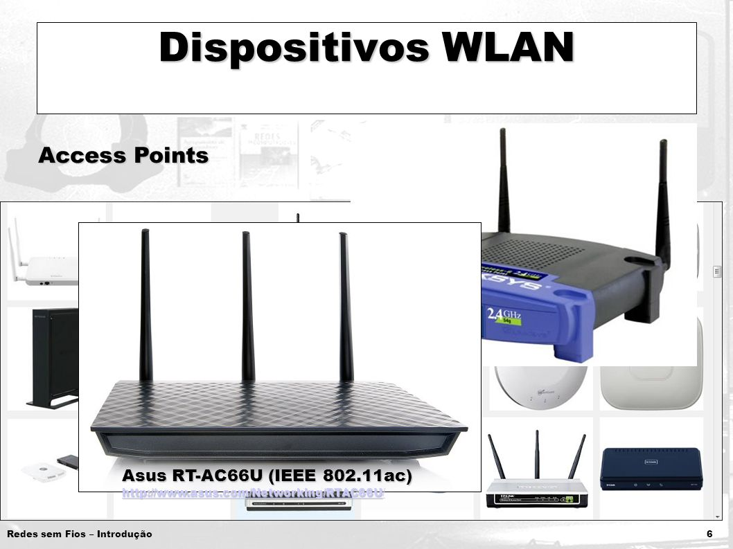 Dispositivos WLAN Access Points Asus RT-AC66U (IEEE 802.11ac)