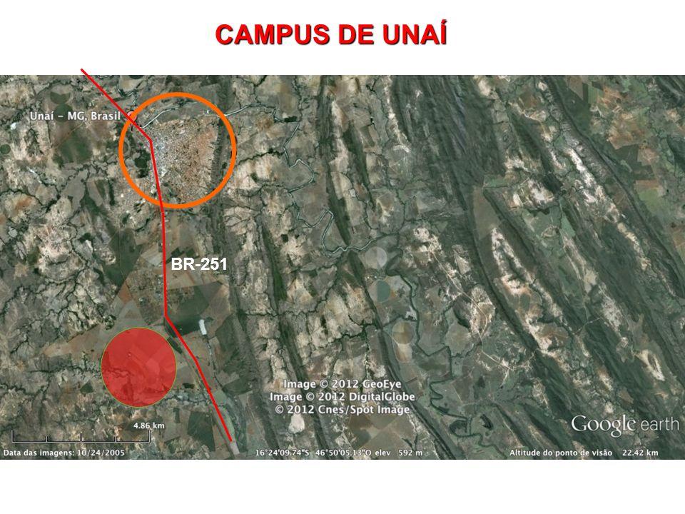 CAMPUS DE UNAÍ BR-251