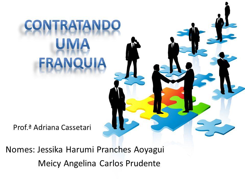 CONTRATANDO UMA FRANQUIA