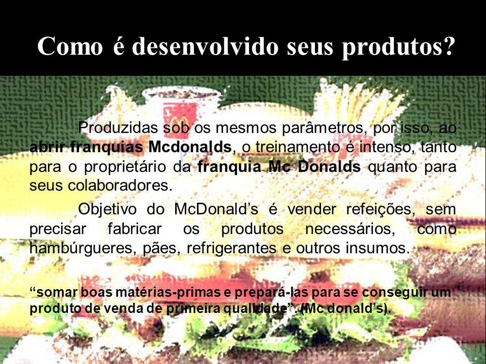Como é desenvolvido seus produtos