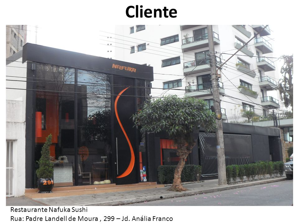 Cliente Restaurante Nafuka Sushi
