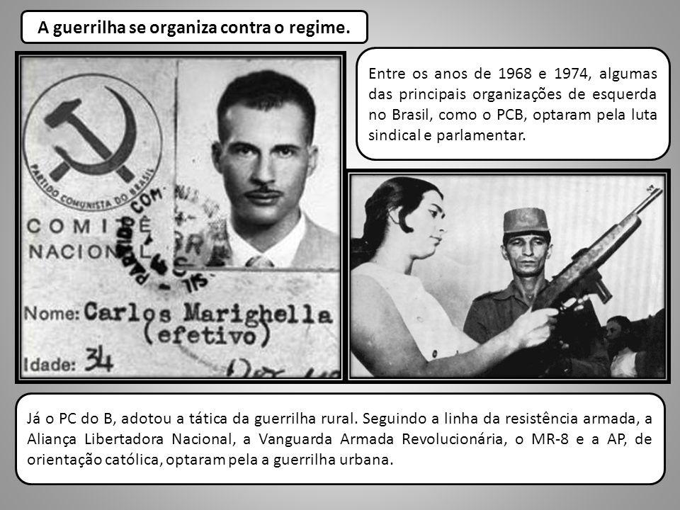 A guerrilha se organiza contra o regime.