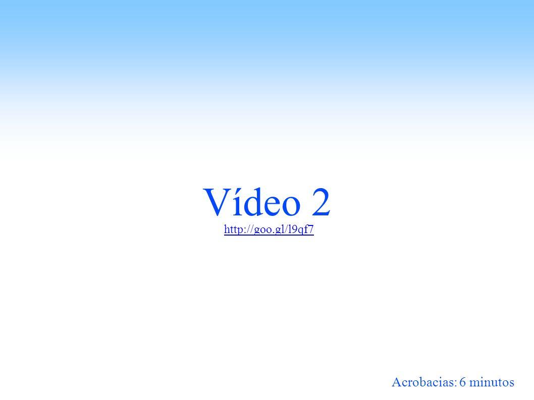 Vídeo 2 http://goo.gl/l9qf7 Acrobacias: 6 minutos