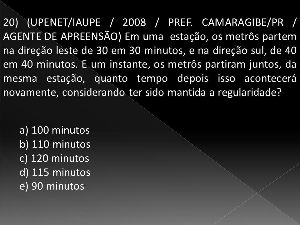 20) (UPENET/IAUPE / 2008 / PREF