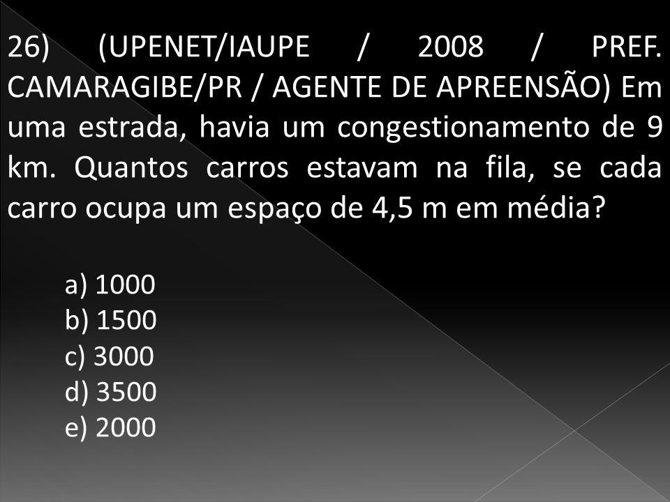 26) (UPENET/IAUPE / 2008 / PREF