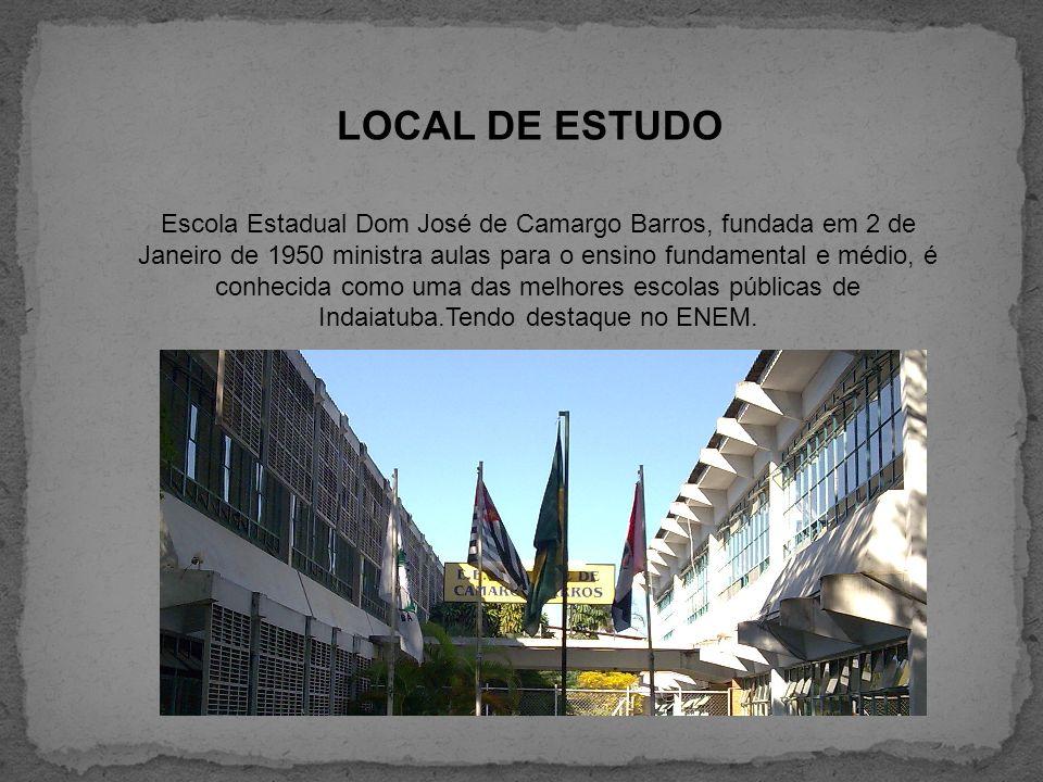 LOCAL DE ESTUDO