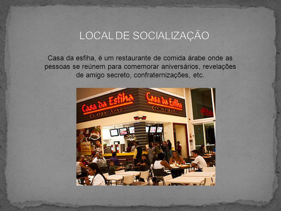 LOCAL DE SOCIALIZAÇÃO