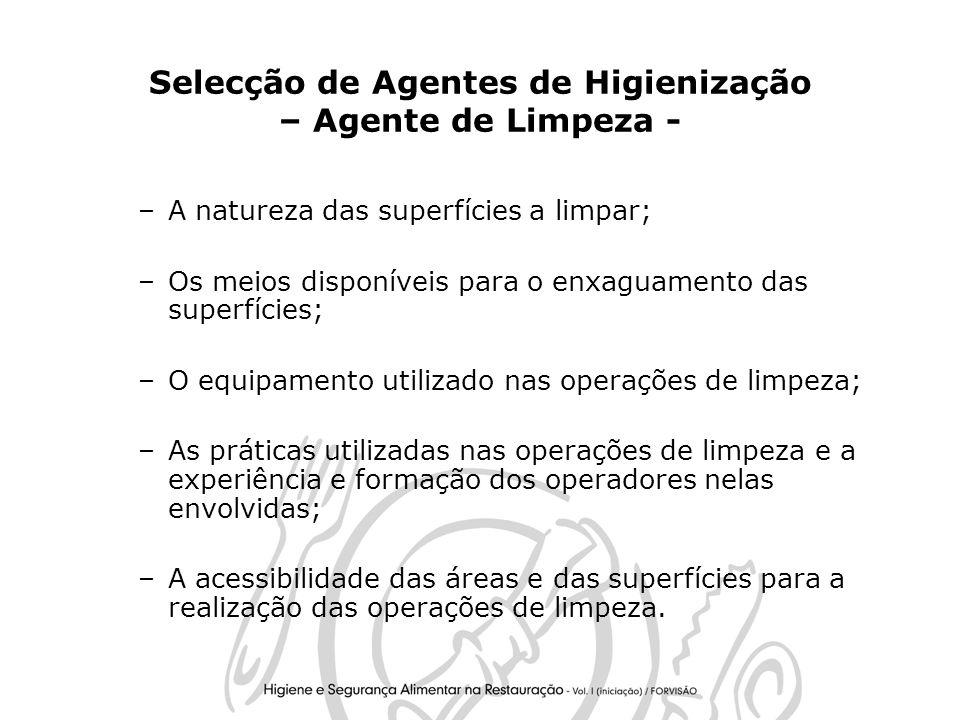 Selecção de Agentes de Higienização – Agente de Limpeza -