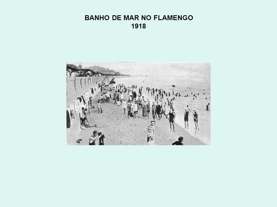BANHO DE MAR NO FLAMENGO 1918