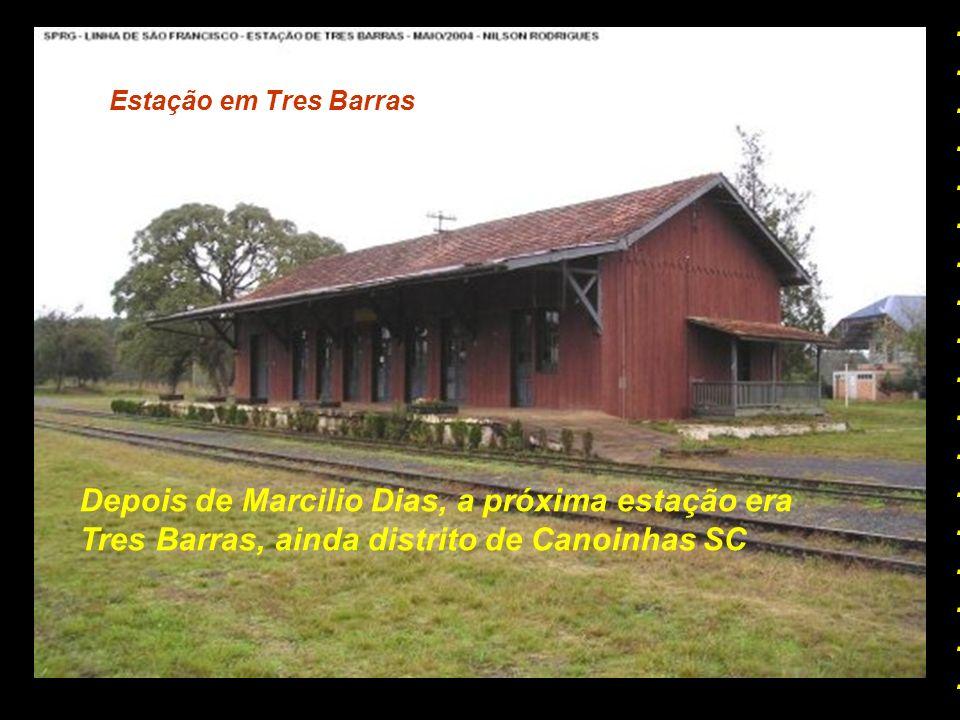 Depois de Marcilio Dias, a próxima estação era