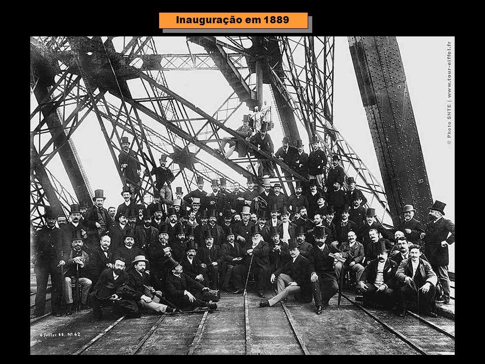 Inauguração em 1889