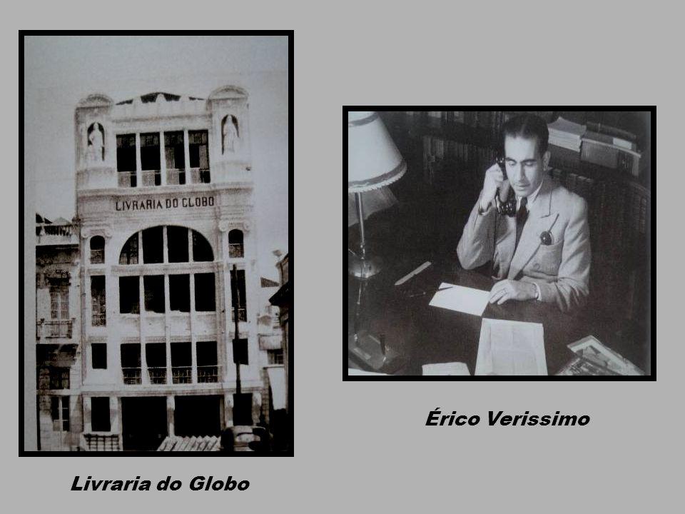 Érico Verissimo Livraria do Globo