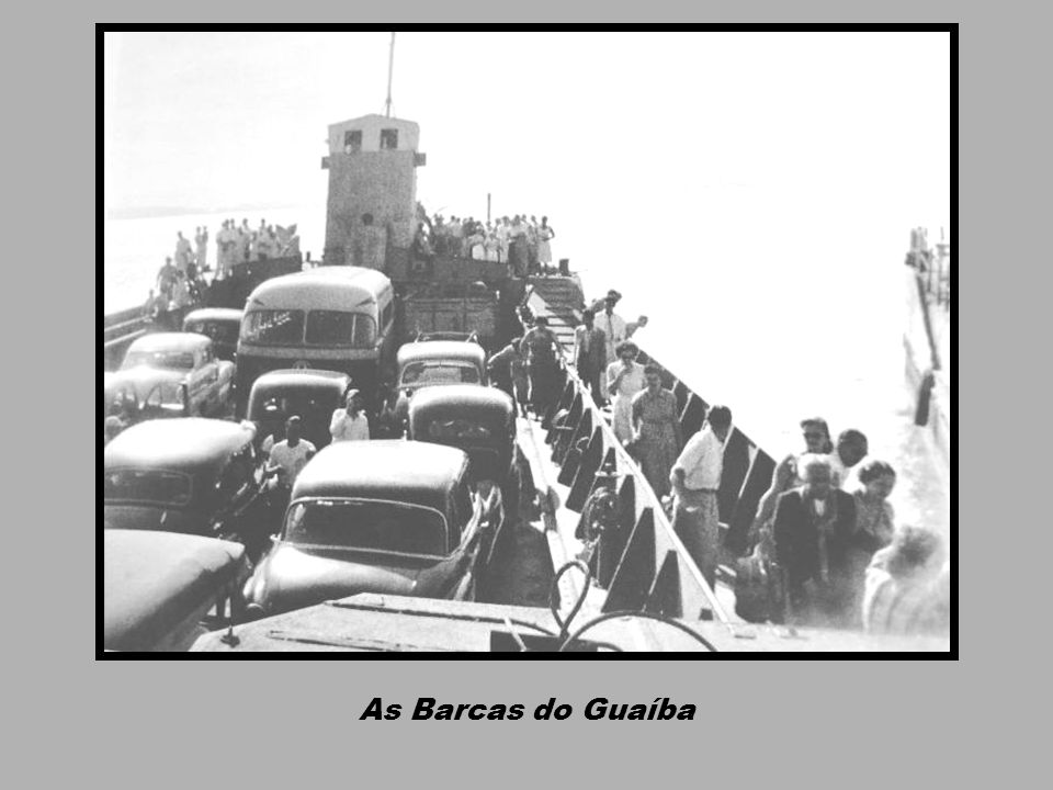 As Barcas do Guaíba