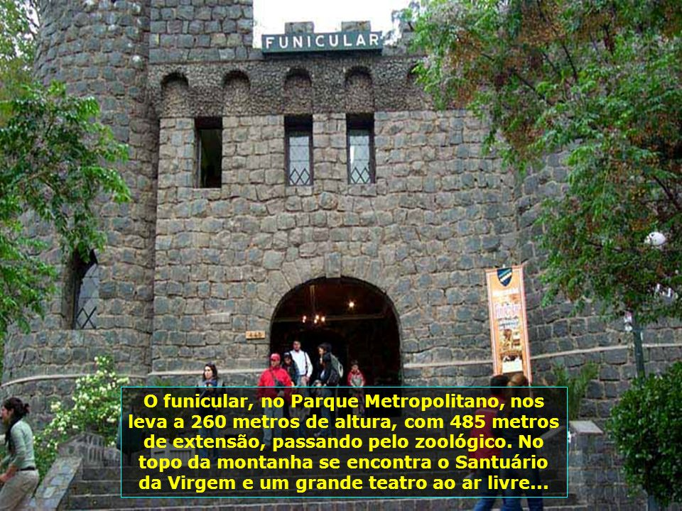 P0009284 - CHILE-SANTIAGO - FUNICULAR