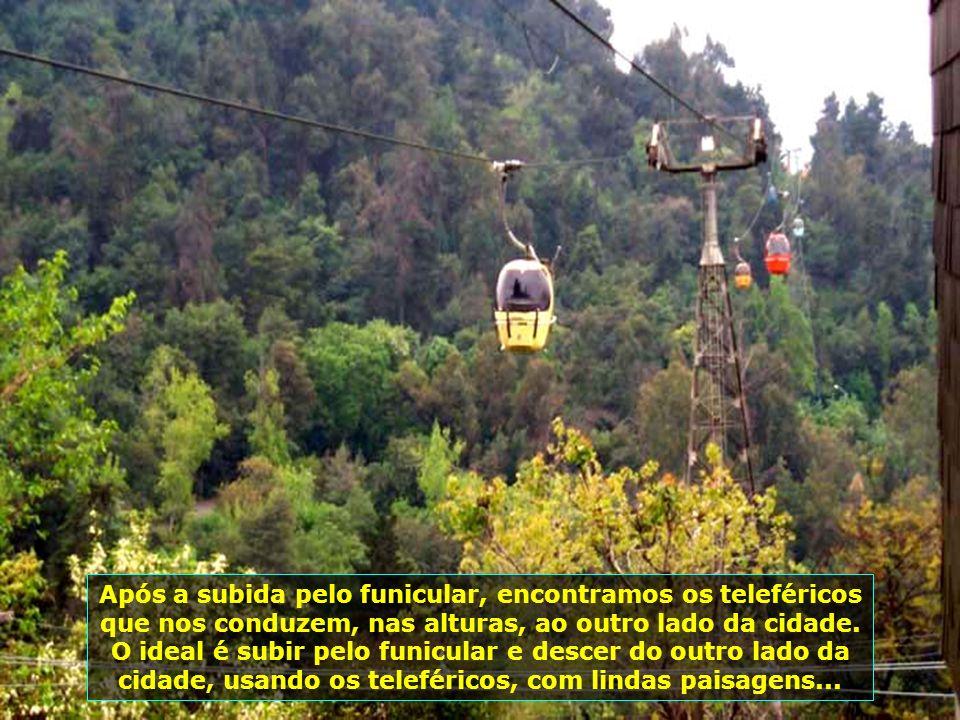 P0009271 - CHILE-SANTIAGO - TELEFÉRICO