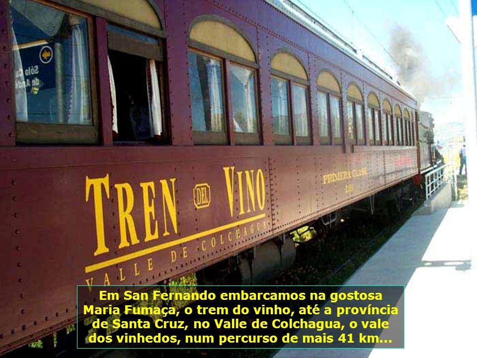 P0008759 - CHILE-SAN FERNANDO - TREM PARA SANTA CRUZ