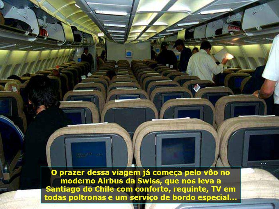 P0008631 - CHILE-SANTIAGO - IMAGENS DO AVIÃO