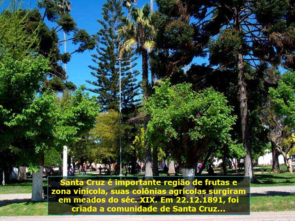 P0008822 - CHILE-SANTA CRUZ - PRAÇA DE ARMAS