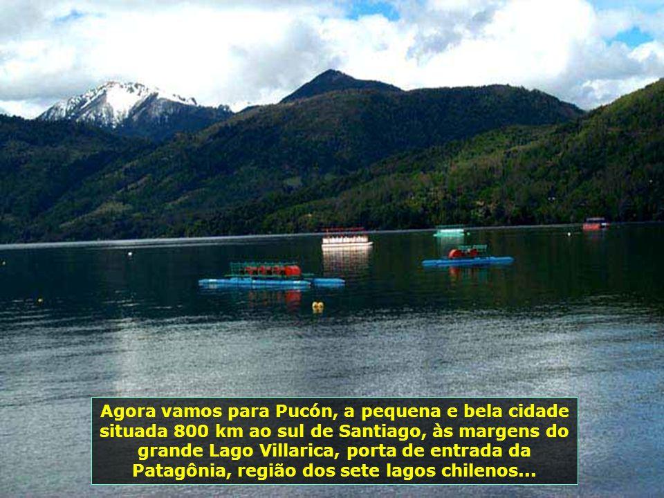P0009012 - CHILE-PUCON - LAGO CABURGUA