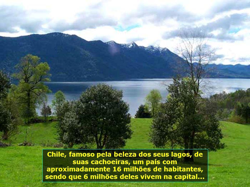 P0009019 - CHILE-PUCON - LAGO CABURGUA
