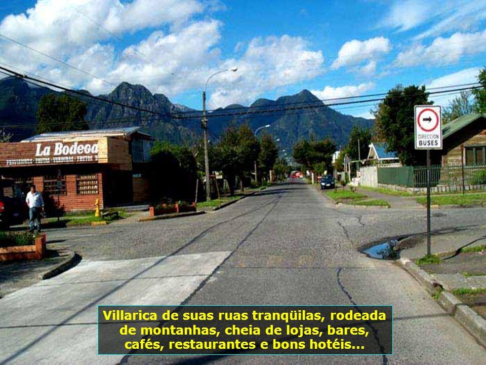 P0009197 - CHILE-VILLARICA - RUAS
