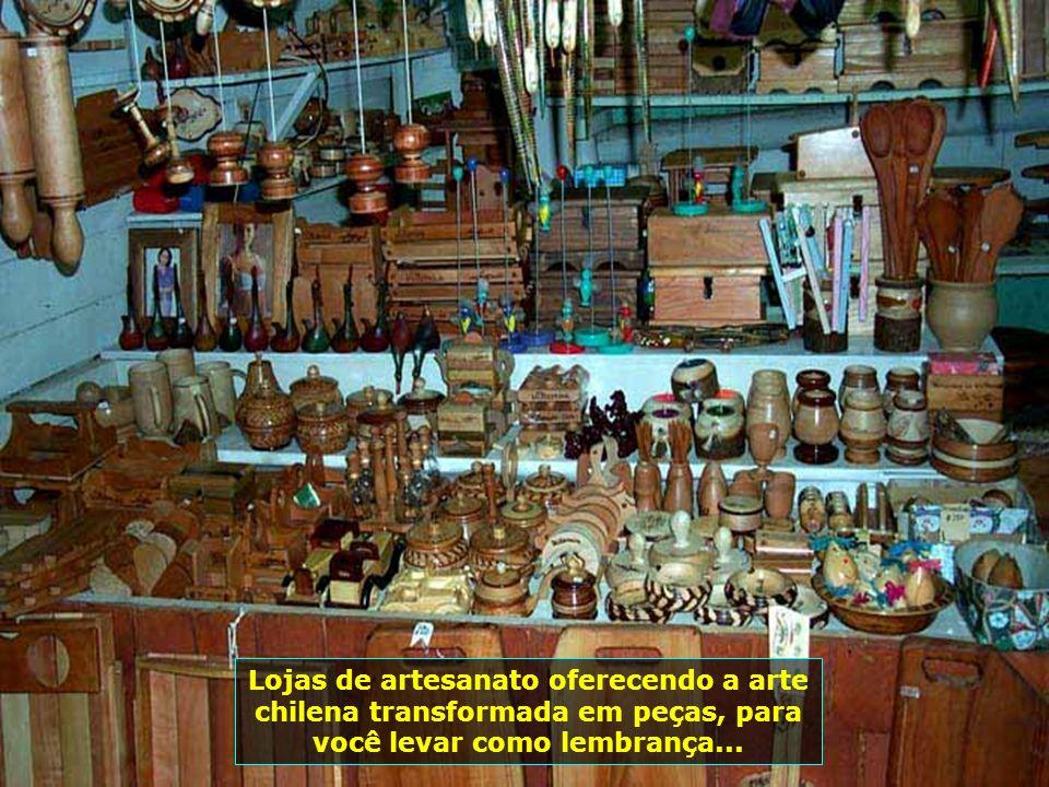 P0009211 - CHILE-VILLARICA - ARTESANATO