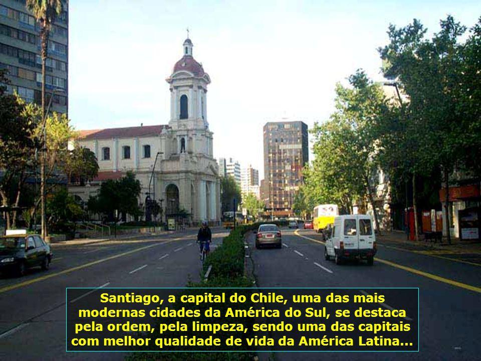 P0008872 - CHILE-SANTIAGO - CIDADE