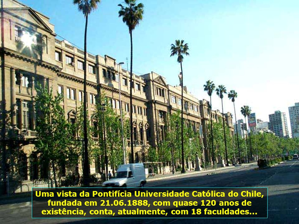 P0008934 - CHILE-SANTIAGO - UNIVERSIDADE CATÓLICA