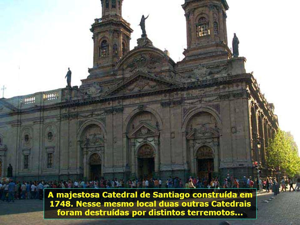 P0008950 - CHILE-SANTIAGO - CATEDRAL DE SANTIAGO