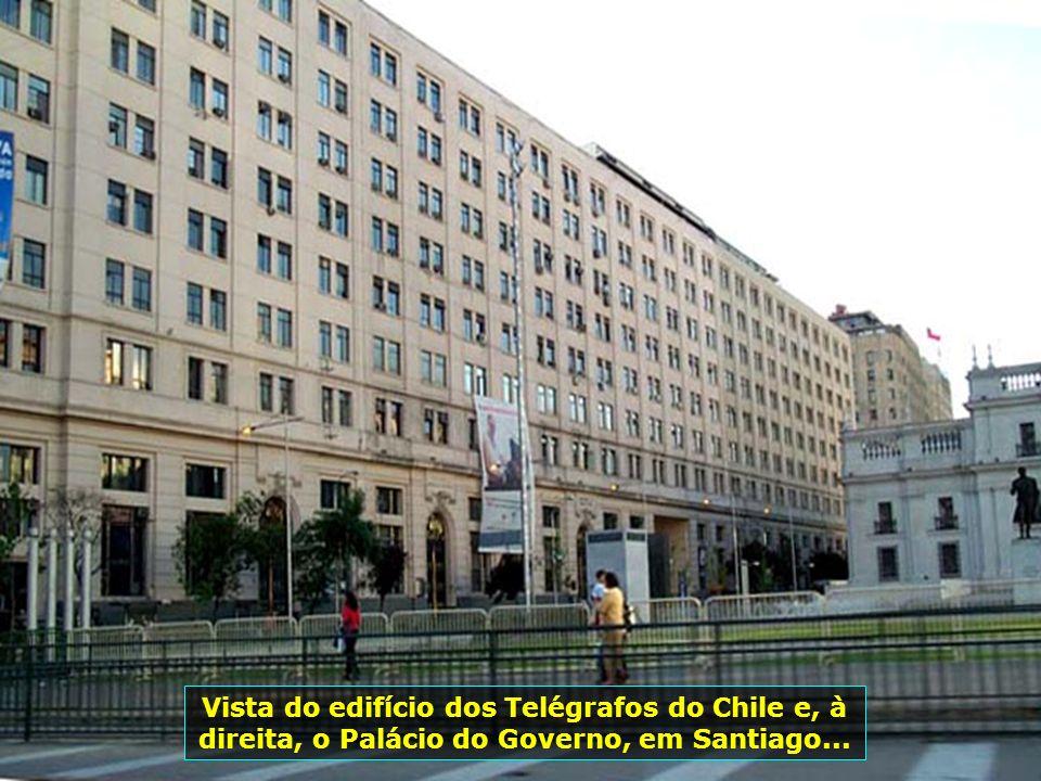 P0008935 - CHILE-SANTIAGO - PALÁCIO DO GOVERNO