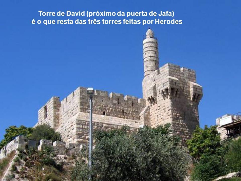 Torre de David (próximo da puerta de Jafa)