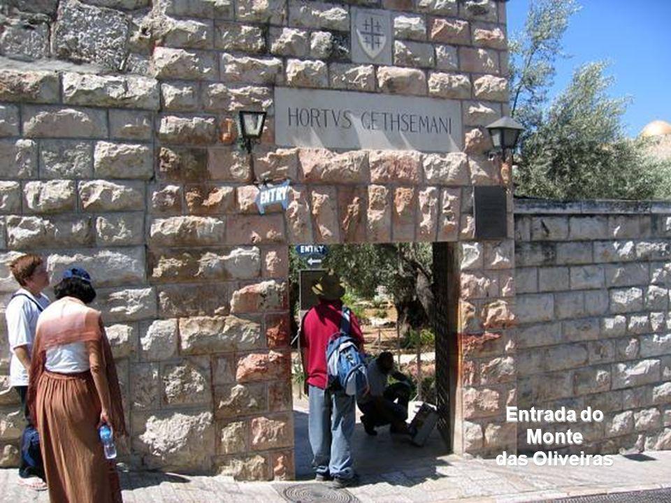 Entrada do Monte das Oliveiras