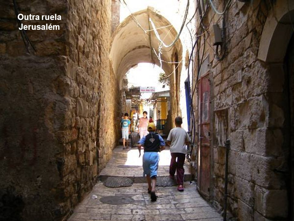 Outra ruela Jerusalém