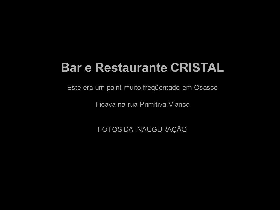 Bar e Restaurante CRISTAL