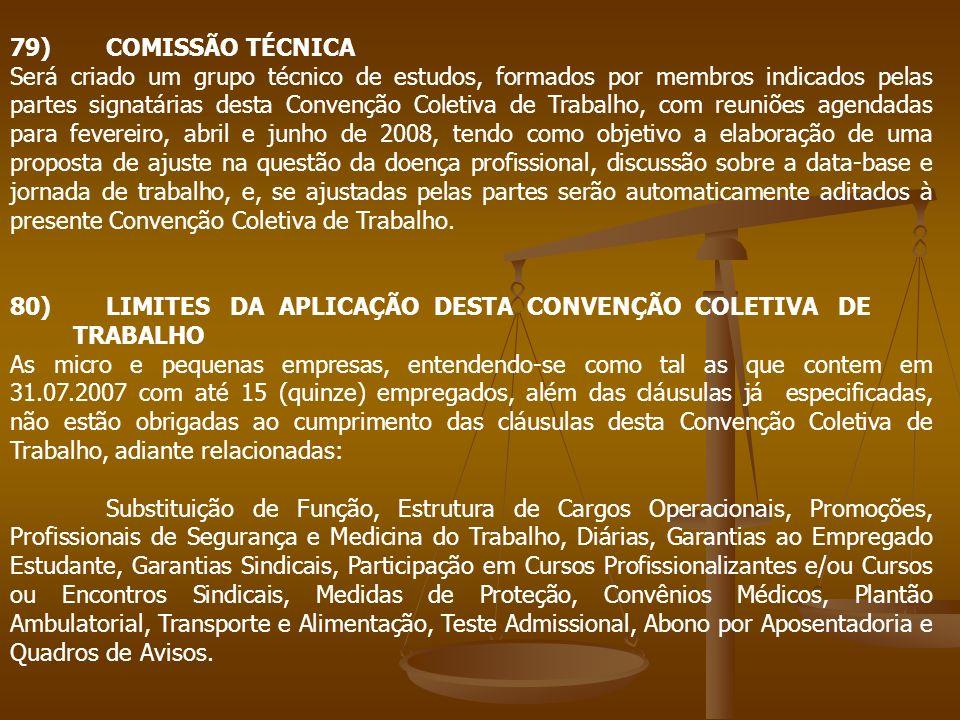 79) COMISSÃO TÉCNICA