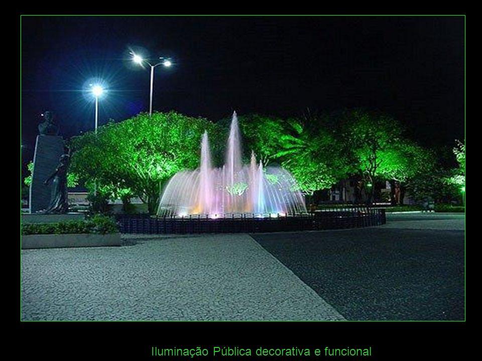 Iluminação Pública decorativa e funcional