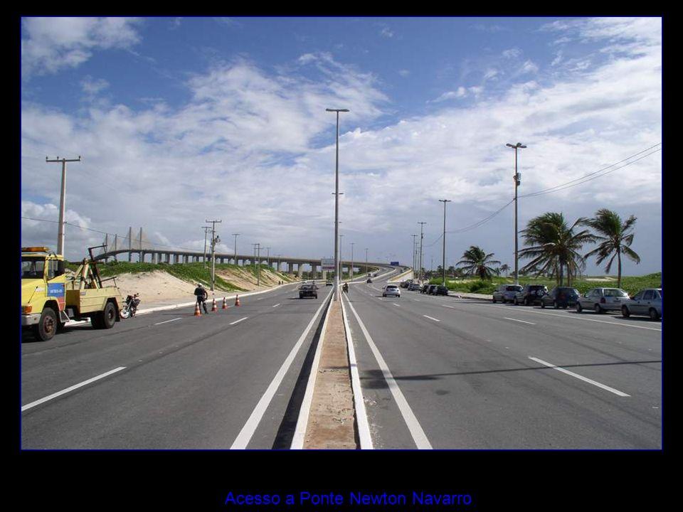Acesso a Ponte Newton Navarro