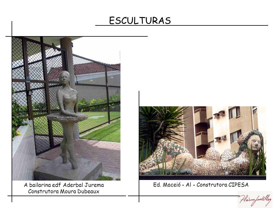 ESCULTURAS A bailarina edf Aderbal Jurema