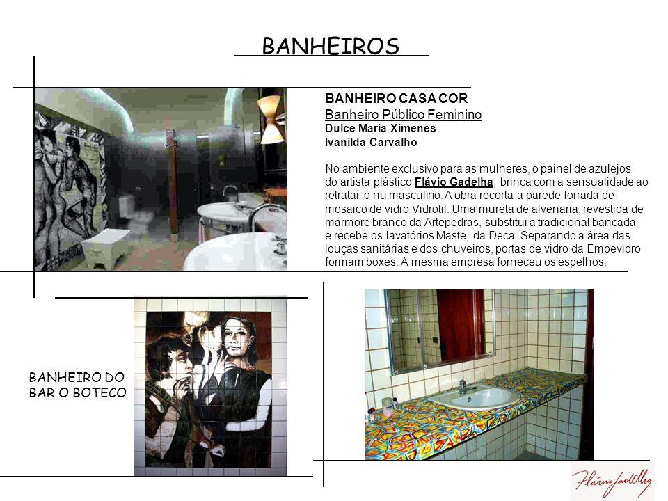 BANHEIROS BANHEIRO CASA COR Banheiro Público Feminino BANHEIRO DO