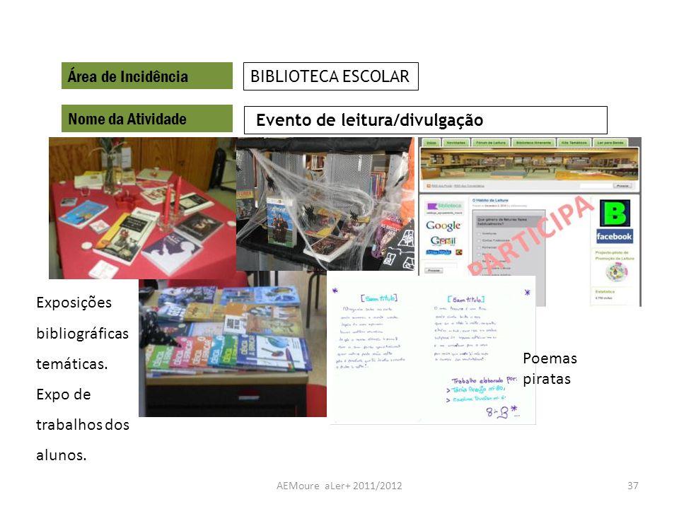 Evento de leitura/divulgação