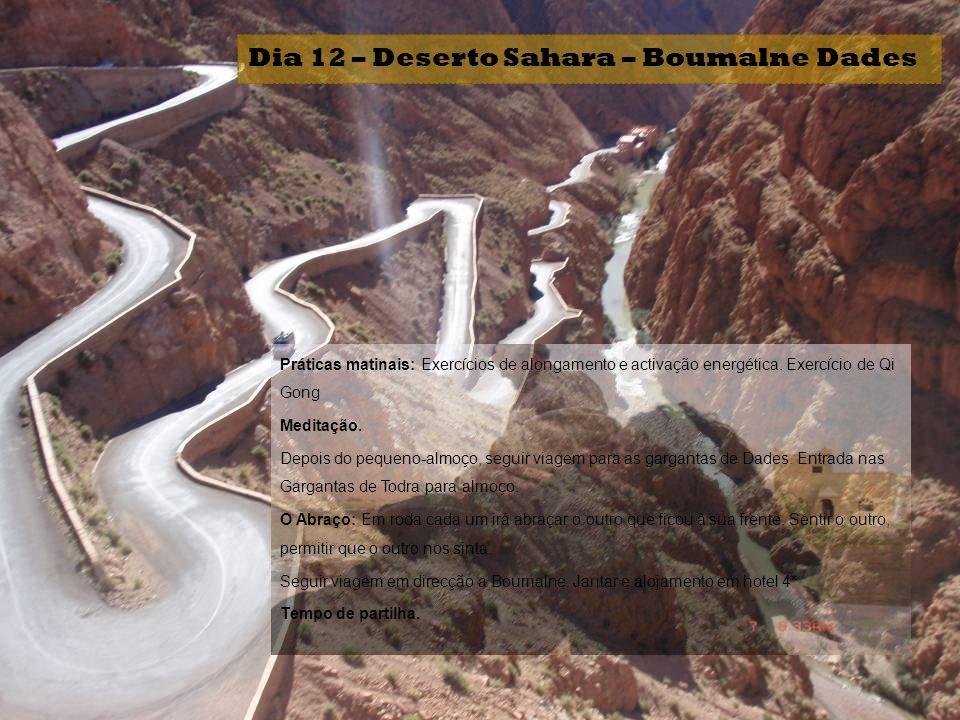 Dia 12 – Deserto Sahara – Boumalne Dades