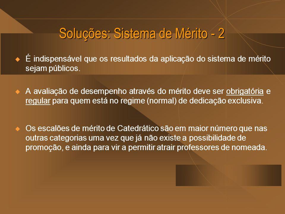Soluções: Sistema de Mérito - 2