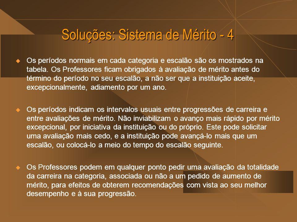 Soluções: Sistema de Mérito - 4