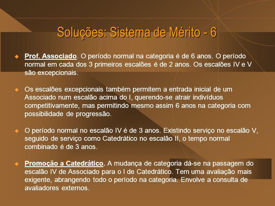 Soluções: Sistema de Mérito - 6
