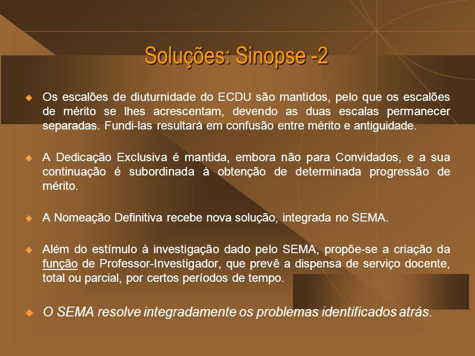 Soluções: Sinopse -2