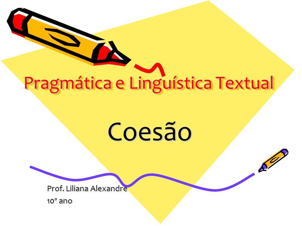 Pragmática e Linguística Textual